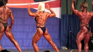 Ms. International (bodybuilding) at Arnold's 2013 (prejudging 2)