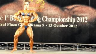 Classic Thailand : Siam Bodybuilding Classic 2012 - Wilaiporn Wannaklang