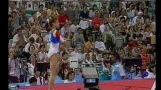 1992 Olympics - Gymnastics AA Final Part 2 - a different perspective.....