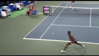 Venus Williams 2013 Toray PPO Hot Shot