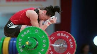 2013 World Weightlifting Championships Women's 53 kg Snatch