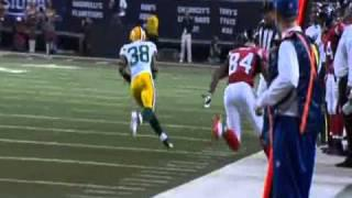 Tramon Williams interception vs Atlanta Falcons HUN