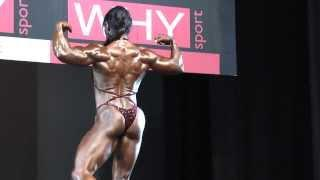 Lisa Bailey - Competitor No 73 - Physique - Prejudging - NABBA World 2013