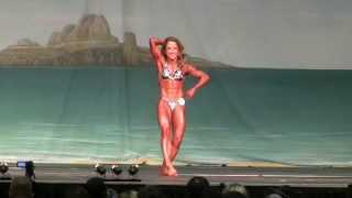 2013 Europa Show Of Champions Prejudging. IFBB Pro Women's Physique Rachel Baker