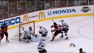 Anton Volchenkov goal. LA Kings vs New Jersey Devils Stanley Cup Game 1 5/30/12 NHL Hockey