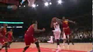 J .R. Smith sick crossover and slam on the Cavaliers (2014.01.30)