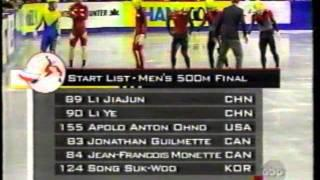 2003 World Short Track Speed Skating Championships - Men's 500