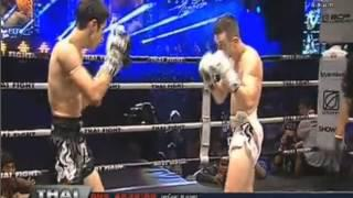 Leo Pinto VS Andrew Doyle - THAI FIGHT  22 Feb 2014