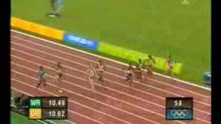 2004 Olympic Womens 100m Final