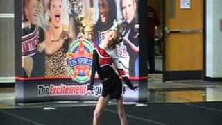 Connie 1st Ever Individual Cheer Routine Level3