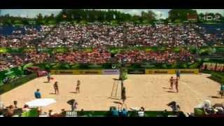 FIVB Beach Volleyball - Mazvry 2013- WOMEN'S SEMIFINAL CHN VS BRA