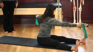 Upside-Down Pilates - Resistance Band - Lesson 56 - Part 3 Of 4 - HD