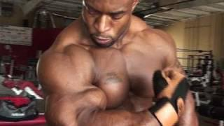 HD Muscle - Bodybuilder Cory Mathews biceps, chest