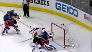 David Clarkson Deflection Goal 5/16/12 Devils @ Rangers NHL Playoffs