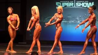 Julia Axford (Jax) at the 2013 OPA Provincial Championships Prejudging Women's Physique HD