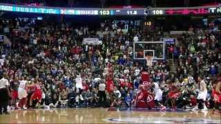 James Anderson 36 (clutch 3-pointer) points vs Rockets - Full Highlights (2013.11.13)