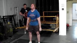 Rich Frame deadlift
