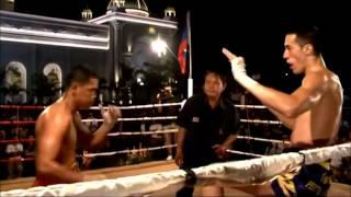 Erik Massion (Germany) Muay Thai Vs Kun Khmer Fighter (cambodia)