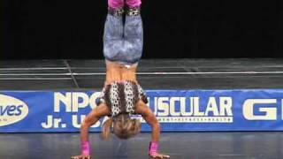 Sandi Stuart's fitness routine at the 2009 Jr USA Championships