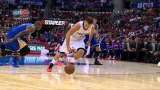 Blake Griffin 3 consecutive alley oop dunks on the Warriors (2013.10.31)
