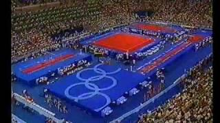 1992 Olympics - Gymnastics - Team Final Part 2 ....a different perspective....