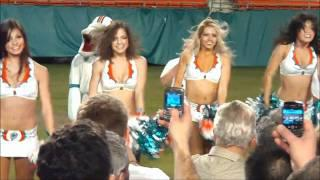 Miami Dolphins Cheerleaders NFL Cheerleaders