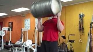 Strongman Contest Event Training