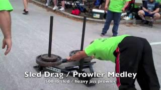Elliott Hulse Strongman - FL Championship 2012 (1st Place Win)