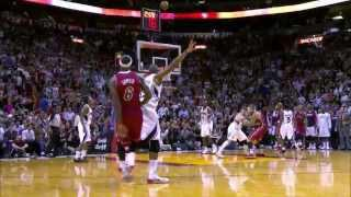 Lebron James 38 points (poster jam on Millsap) vs Hawks - Full Highlights (2013.12.23)