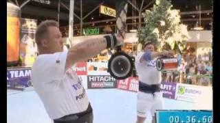 Power Team Sponsors Strongman Contest In Finland