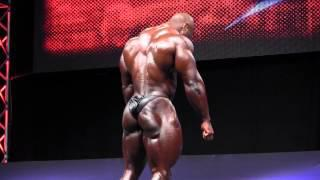 Shawn Rhoden  Posing At The 2012 EVLS Prague Pro