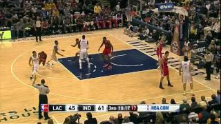 Paul George 36 points (360 windmill dunk) vs Clippers - Full Highlights (2014.01.18)