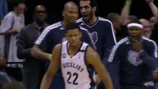 Rudy Gay Throws Down Over Manu Ginobili
