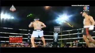 Thai Fight KARD CHUEK 12th October 2013 - Sudsakorn Sor  Klinmee vs Idouche Lahoucine
