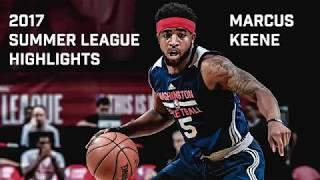 Marcus Keene Full 2017 NBA Summer League Highlights
