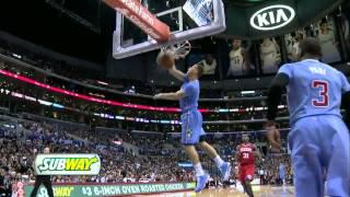 Blake Griffin back-to-back alley-oop windmill dunks on the Sixers (2014.02.09)