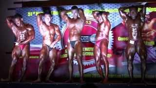 SBBF Nationals 2013 - Compulsory Poses (Middle Weight)