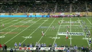 2014 CFL Week 18 BC Lions at Winnipeg Blue Bombers