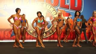Arnold Classic Madrid 2013 Female Physique Qualifying (part II)
