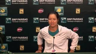 BNP Paribas Open: Li Na Fourth Round Press Conference