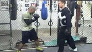 Boxing Technique Tips Workout-Jab Drill.