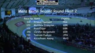 UCI World Track Champs 08 Mens Keirin Second Round Heat 1&2